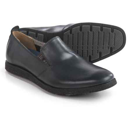 Hush Puppies Hoyt Jester Loafers -Leather (For Men) in Navy Leather - Closeouts