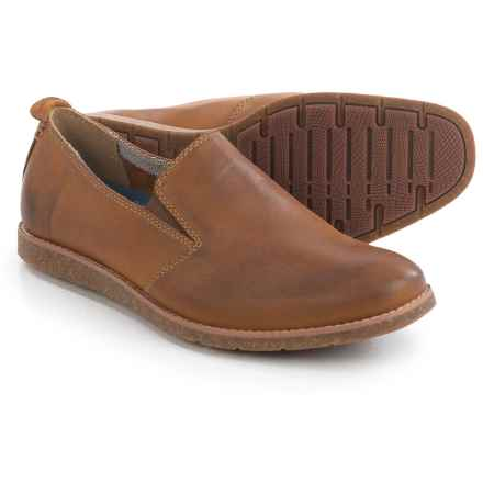 Hush Puppies Hoyt Jester Loafers -Leather (For Men) in Tan Leather - Closeouts