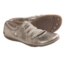 Hush Puppies Kriya Ghillie Shoes - Leather (For Women) in Platinum - Closeouts