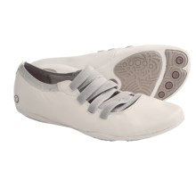 Hush Puppies Kriya Ghillie Shoes - Leather (For Women) in White - Closeouts