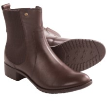 Hush Puppies Lana Chamber Ankle Boots - Leather (For Women) in Dark Brown Leather - Closeouts