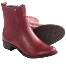 Hush Puppies Lana Chamber Ankle Boots - Leather (For Women) in Wine Leather - Closeouts