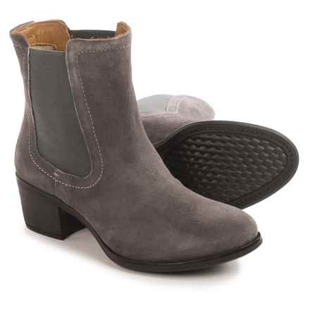 Hush Puppies Landa Nellie Chelsea Boots - Suede (For Women) in Smoke - Closeouts