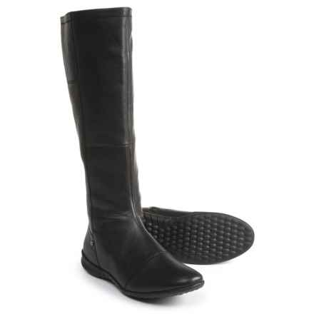 Hush Puppies Lilli Bria Boots - Waterproof, Leather (For Women) in Black - Closeouts