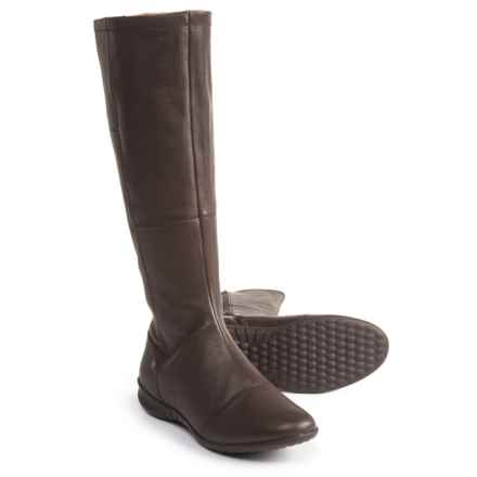 Hush Puppies Lilli Bria Boots - Waterproof, Leather (For Women) in Dark Brown - Closeouts