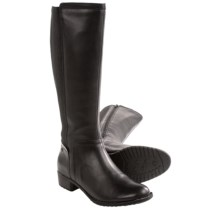 Hush Puppies Lindy Chamber Boots - Leather (For Women) in Black Leather - Closeouts