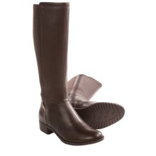 Hush Puppies Lindy Chamber Boots - Leather (For Women) in Dark Brown Leather - Closeouts
