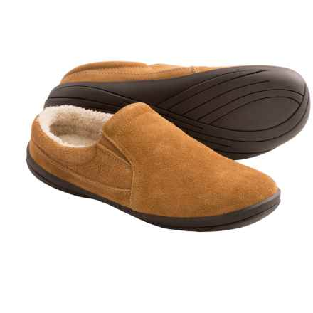 Hush Puppies Lombardy Suede Slippers (For Men) in Natural - Closeouts