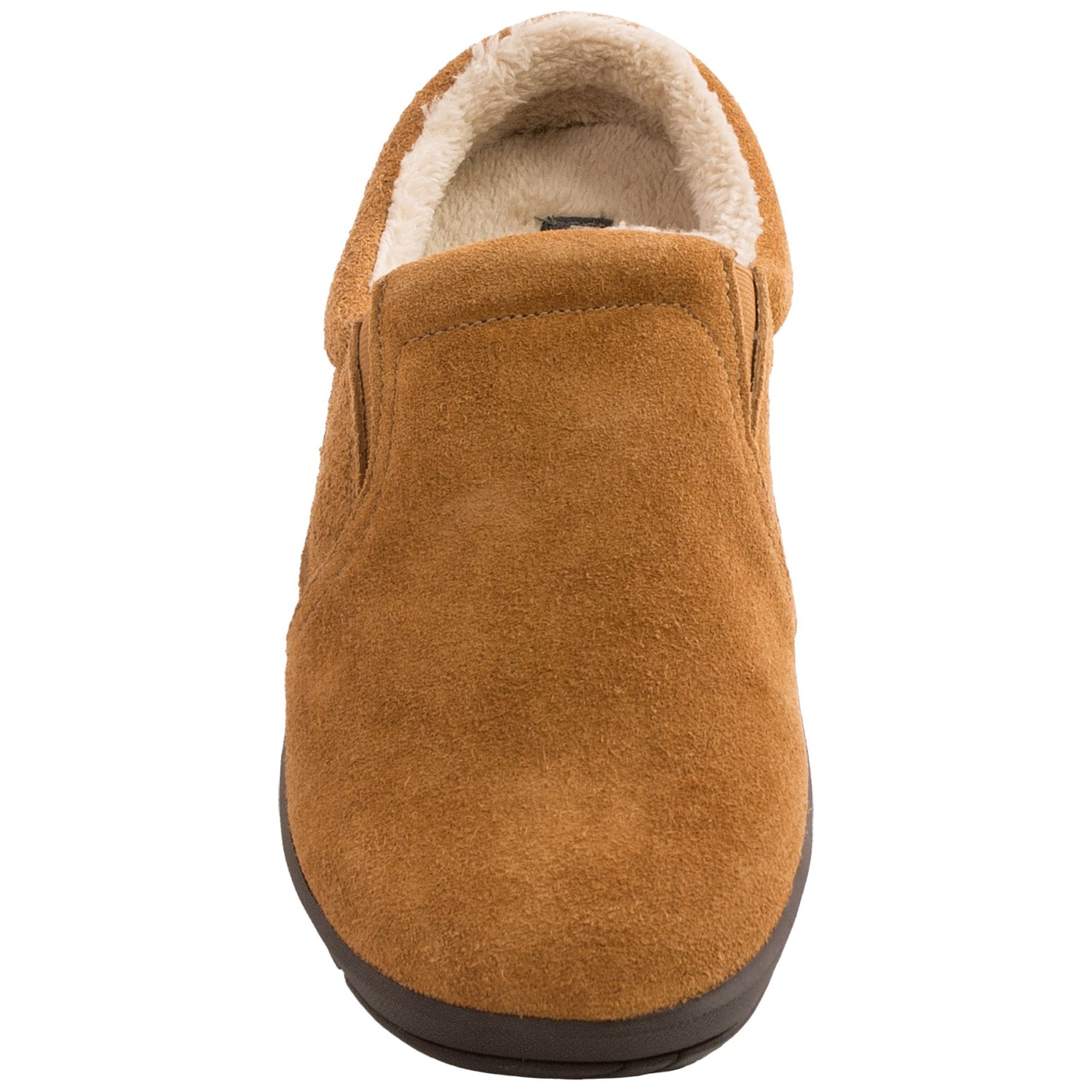 Hush Puppies Lombardy Suede Slippers For Men Save 75