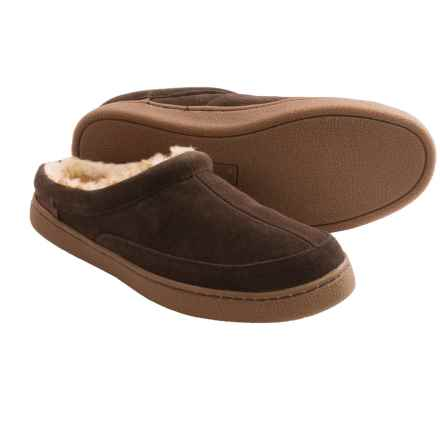 Hush Puppies Longleaf Slippers (For Men) in Espresso - Closeouts