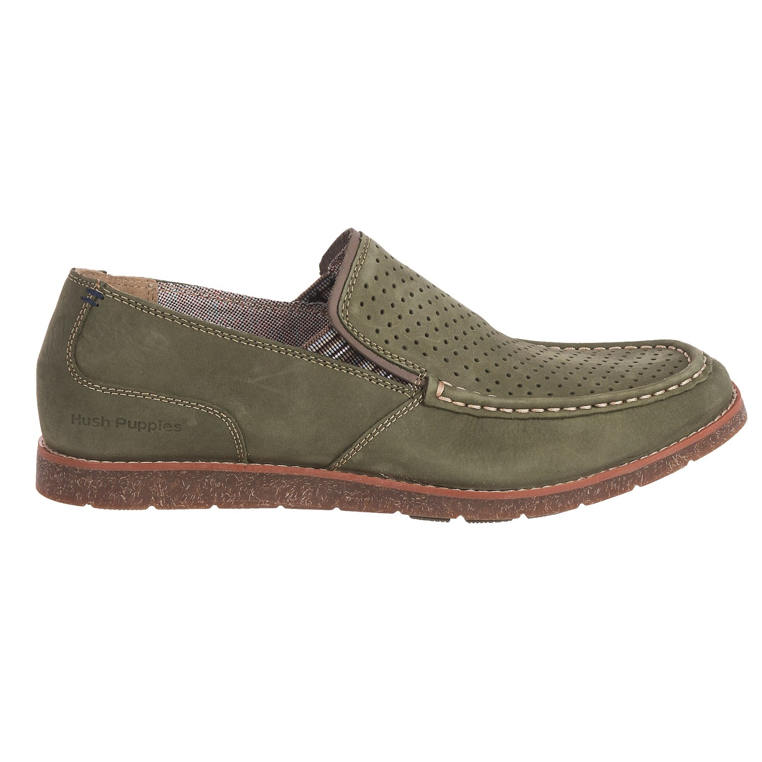 Mens Runner Slip on Moccasins Hush Puppies Clearance Online Cheap Real Cheap Sale Professional Free Shipping Best Place jgCF3Ar