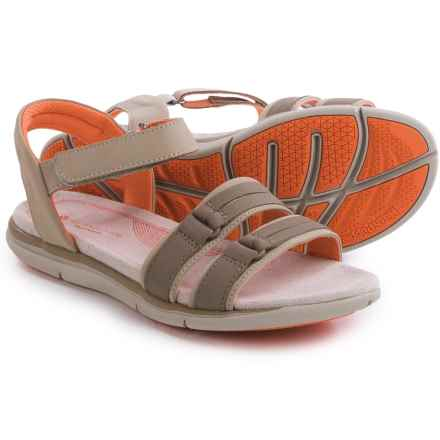 Hush Puppies Margo Aida Sandals (For Women) in Taupe Nubuck - Closeouts