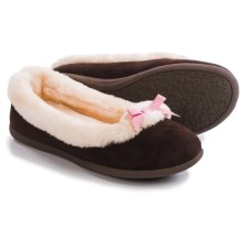 Hush Puppies Marji Slippers (For Women) in Chocolate - Closeouts