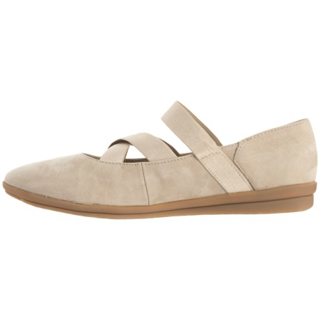Hush Puppies Meree Madrine Mary Jane Shoes - Nubuck (For Women) in Taupe Nb