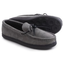 Hush Puppies Northern Oak Suede Slippers (For Men) in Grey - Closeouts