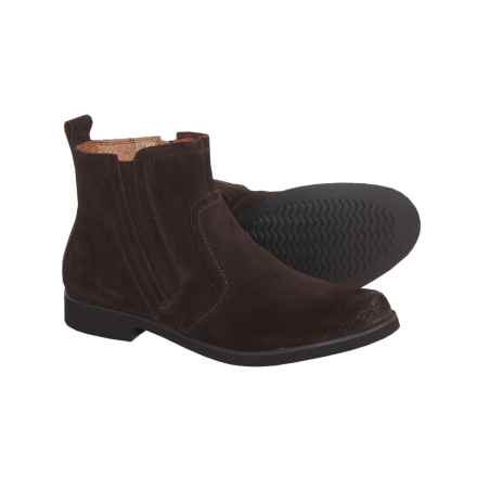 Hush Puppies Reynolds Boots - Suede (For Women) in Dark Brown - Closeouts
