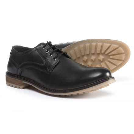 Hush Puppies Rohan Rigby Shoes - Suede (For Men) in Black - Closeouts