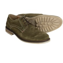 Hush Puppies Rohan Rigby Shoes - Suede (For Men) in Olive Suede - Closeouts