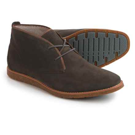 Hush Puppies Roland Jester Chukka Boots - Suede (For Men) in Grey Suede - Closeouts