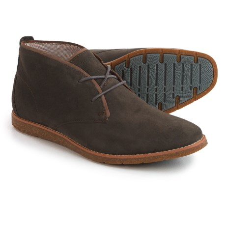Hush Puppies Roland Jester Chukka Boots - Suede (For Men) in Grey Suede