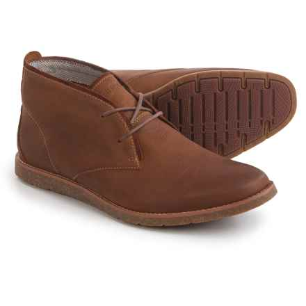 Hush Puppies Roland Jester Chukka Boots - Suede (For Men) in Tan Leather - Closeouts
