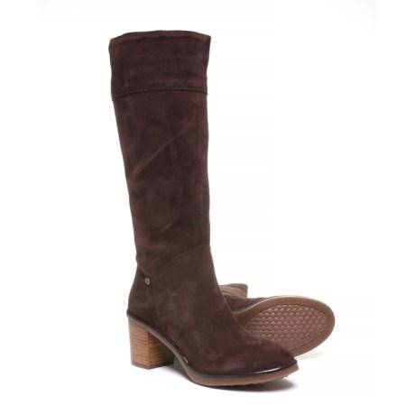 ec1816577de Hush Puppies Saun Olivya Tall Boots - Suede (For Women)