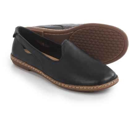 Hush Puppies Sebeka Piper Shoes - Leather (For Women) in Black Leather - Closeouts