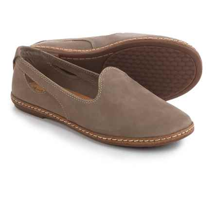 Hush Puppies Sebeka Piper Shoes - Leather (For Women) in Taupe Nubuck - Closeouts