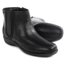 Hush Puppies Sharla Carlisle Ankle Boots - Leather (For Women) in Black - Closeouts