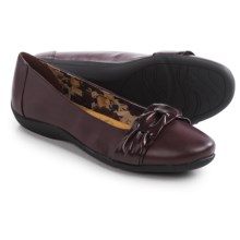 Hush Puppies Soft Style Hava Flats - Leather (For Women) in Port Royal - Closeouts