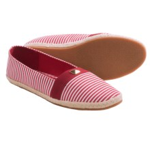 Hush Puppies Soft Style Hillary Shoes - Slip-Ons (For Women) in Red/White - Closeouts