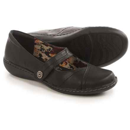 Hush Puppies Soft Style Jayne Mary Jane Shoes - Leather (For Women) in Black - Closeouts