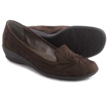 Hush Puppies Soft Style Rory Shoes - Vegan Leather, Slip-Ons (For Women) in Dark Brown - Closeouts