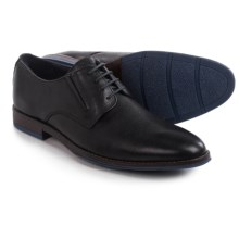 Hush Puppies Style Oxford Plain-Toe Shoes - Leather (For Men) in Black Leather - Closeouts