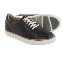 Hush Puppies Tristan Nicholas Sneakers - Leather (For Men) in Black Leather - Closeouts