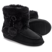 Hush Puppies Veralyn Boot Slippers (For Women) in Black - Closeouts