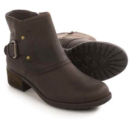 Hush Puppies WeatherSMART Proud Overton Boots - Waterproof, Insulated, Leather (For Women) in Dark Brown - Closeouts