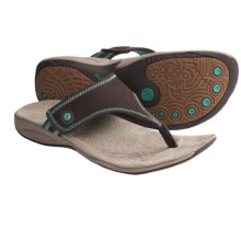 Hush Puppies Zendal Sandals (For Women) in Dark Brown - Closeouts