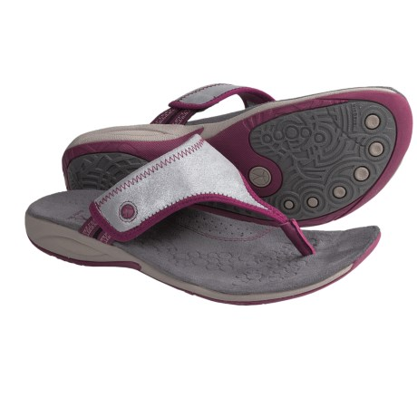 Hush Puppies Zendal Sandals (For Women) in Silver