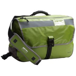 Hyalite Equipment Anchorage Messenger Bag - Waterproof in Apple