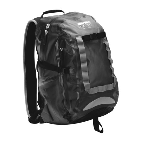 Hyalite Equipment Christchurch Backpack - Waterproof in Black