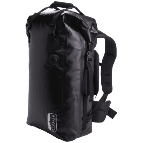 Hyalite Equipment Gobi 60 Bag - Waterproof in Black