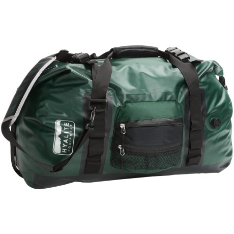 Hyalite Equipment River Duffel Bag - Medium, Waterproof in Forest Green