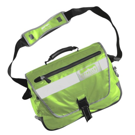 Hyalite Equipment Vancouver Messenger Bag - Waterproof in Red