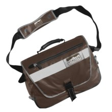 Hyalite Equipment Vancouver Messenger Bag - Waterproof in Chocolate - Closeouts