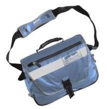 Hyalite Equipment Vancouver Messenger Bag - Waterproof in Raft Blue - Closeouts