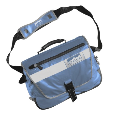 Hyalite Equipment Vancouver Messenger Bag - Waterproof in Raft Blue