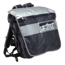 Hyalite Equipment Velocio Large Roll Top Pack - Waterproof in Black - Closeouts