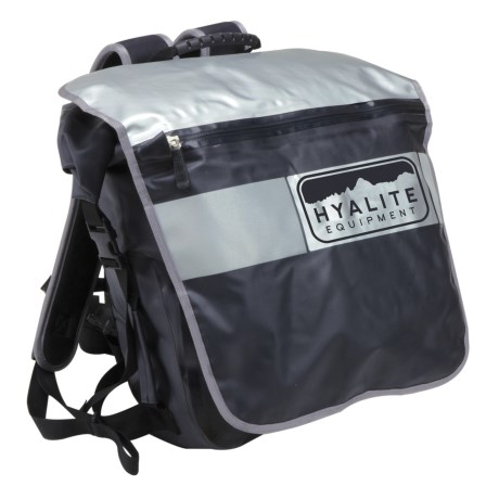 Hyalite Equipment Velocio Large Roll Top Pack - Waterproof in Black