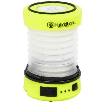 Hybrid Light The Puc Expandable Lantern/Flashlight - 75 Lumens in Yellow - Closeouts